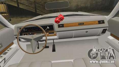Cadillac Eldorado Coupe 1969 für GTA 4 Seitenansicht