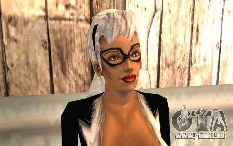Chat noir HD pour GTA San Andreas