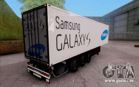 Samsung Galaxy S Trailer pour GTA San Andreas