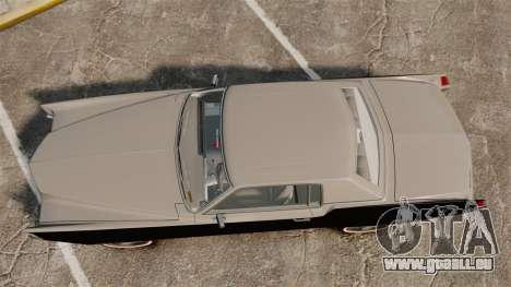 Cadillac Eldorado Coupe 1969 für GTA 4 rechte Ansicht