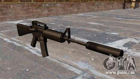 Automatische Colt M4A1 carbine für GTA 4