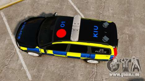 Volvo XC70 Police [ELS] für GTA 4 rechte Ansicht