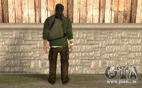 Sam Fisher pour GTA San Andreas deuxième écran