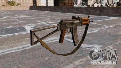 Automatische AKS74U mit Armband für GTA 4 Sekunden Bildschirm