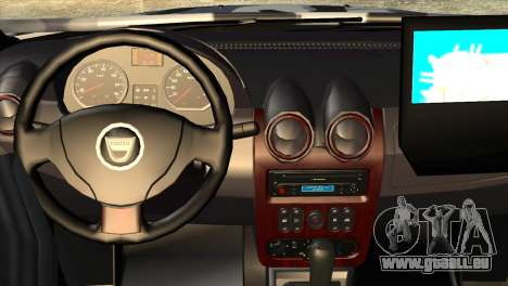Dacia Duster Army Skin 3 für GTA San Andreas rechten Ansicht