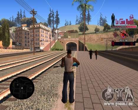 C-HUD LCN pour GTA San Andreas