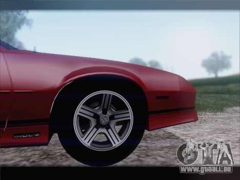 Chevrolet Camaro IROC-Z 1990 für GTA San Andreas