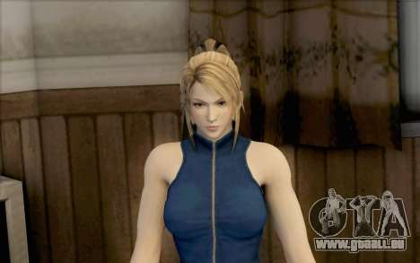 Sarah de Dead or Alive 5 pour GTA San Andreas