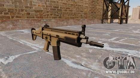 Automatische FN SCAR-L für GTA 4