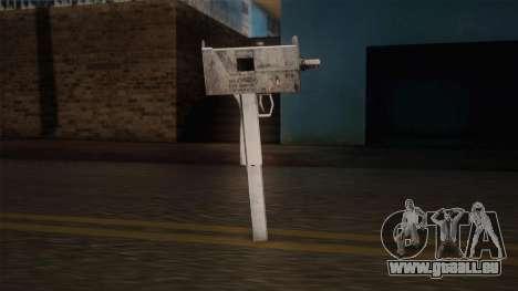 Uzi von Max Payne für GTA San Andreas dritten Screenshot