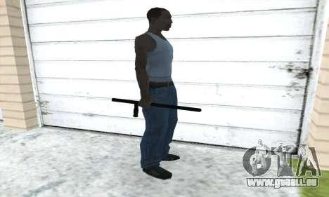Matraque télescopique pour GTA San Andreas troisième écran