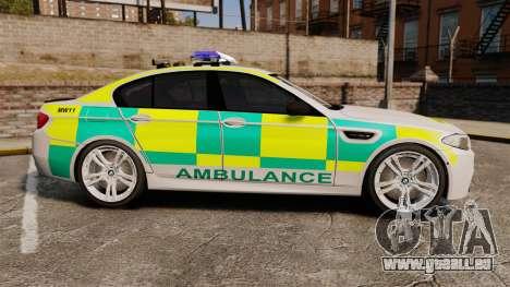 BMW M5 Ambulance [ELS] pour GTA 4 est une gauche