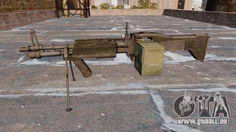 Allzweck-Maschinengewehr M60E4 für GTA 4 dritte Screenshot