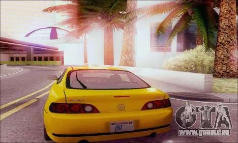 Acura RSX pour GTA San Andreas vue de droite