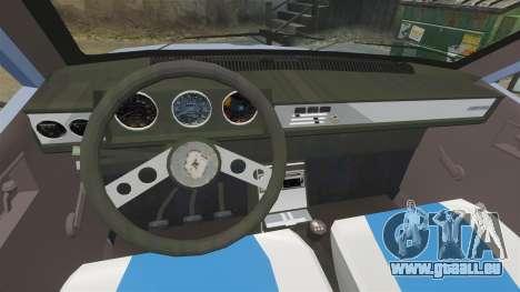 Renault 12 Toros v2.0 für GTA 4 Rückansicht