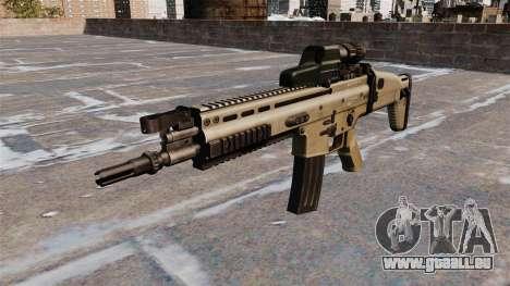 Fusil d'assaut FN SCAR pour GTA 4