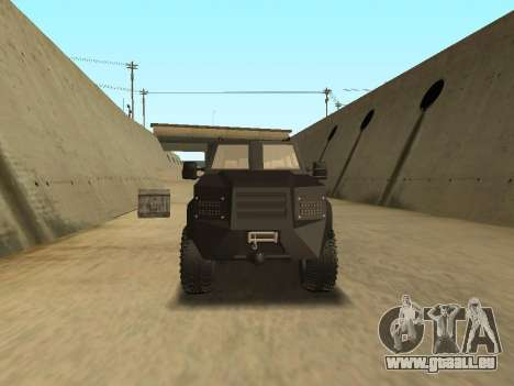 Ford Super Duty Armored für GTA San Andreas rechten Ansicht