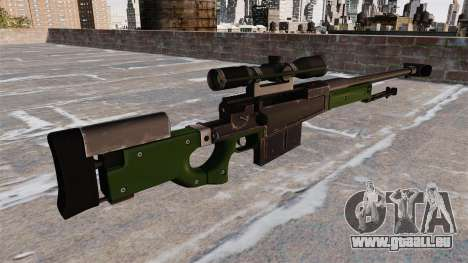 AW50F Scharfschützengewehr für GTA 4 Sekunden Bildschirm