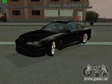 Nissan Silvia S15 Tuning pour GTA San Andreas laissé vue