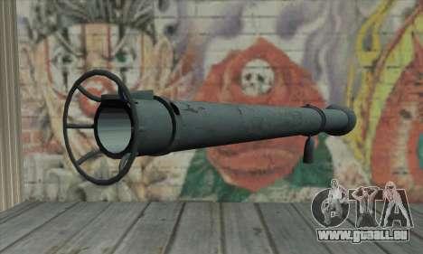 Bazooka pour GTA San Andreas deuxième écran