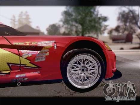 Dodge Viper Competition Coupe für GTA San Andreas Innen