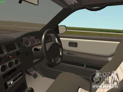 Nissan Skyline R33 GT-R pour GTA San Andreas vue arrière