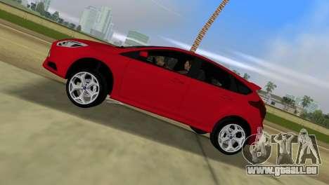 Ford Focus ST 2013 für GTA Vice City zurück linke Ansicht