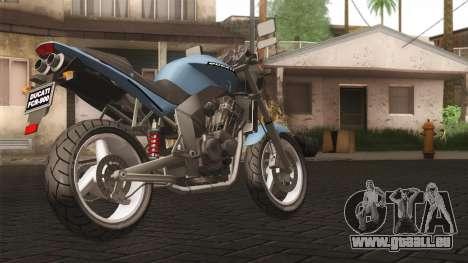 Ducati FRC900 v3 pour GTA San Andreas laissé vue