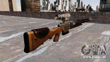 Le fusil de précision FR F2 pour GTA 4 secondes d'écran