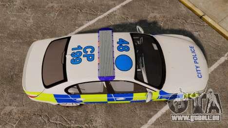 BMW M5 E60 City Of London Police [ELS] für GTA 4 rechte Ansicht