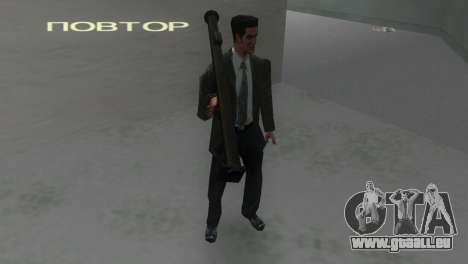 Bazooka von MoH: AA für GTA Vice City dritte Screenshot