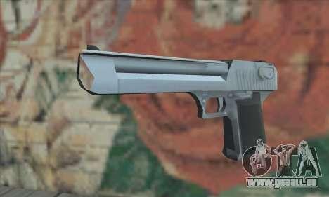 Desert Eagle von Saints Row 2 für GTA San Andreas