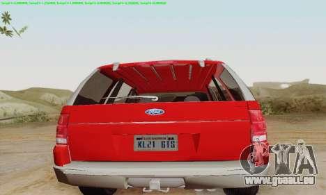 Ford Explorer 2002 für GTA San Andreas rechten Ansicht