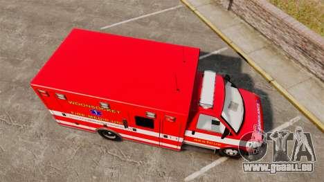 Brute Woonsocket Fire Medic Unit [ELS] pour GTA 4 est un droit