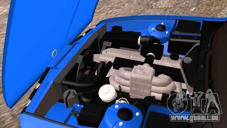 BMW 535i E34 Mafia Style pour GTA San Andreas vue de dessus