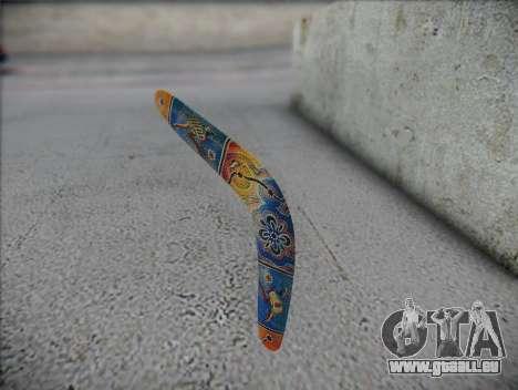 Boomerang pour GTA San Andreas deuxième écran