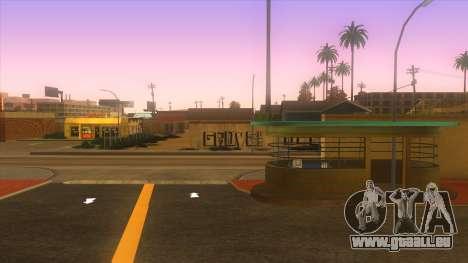 Gare routière, Los Santos pour GTA San Andreas quatrième écran