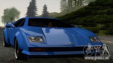Infernus 80s pour GTA San Andreas
