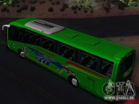 Irizar Mercedes Benz MQ2547 Alabat Liner pour GTA San Andreas vue de dessus
