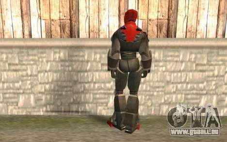 Iron Man pour GTA San Andreas deuxième écran