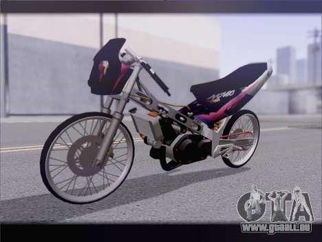 Suzuki Satria FU pour GTA San Andreas