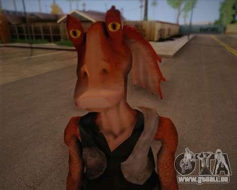Jar Jar Binks für GTA San Andreas dritten Screenshot
