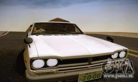 Nissan Skyline 2000GTR 1967 Hellaflush für GTA San Andreas Motor