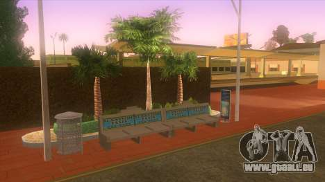 Busbahnhof, Los Santos für GTA San Andreas sechsten Screenshot