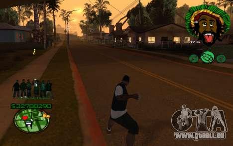 Mit Groove-HUD St. 4Life für GTA San Andreas