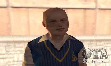 Jimmy Hopkins pour GTA San Andreas troisième écran