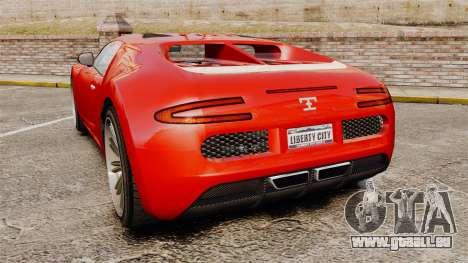 GTA V Truffade Adder pour GTA 4 Vue arrière de la gauche