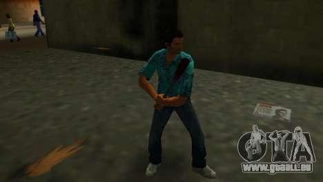Batte de Baseball taché de sang GTA Vice City pour la troisième écran
