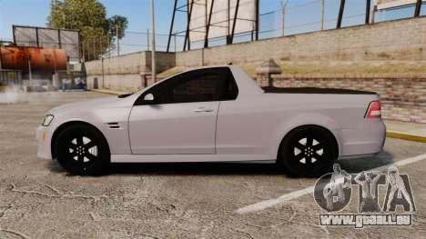 Pontiac G8 Sport Truck 2010 pour GTA 4 est une gauche