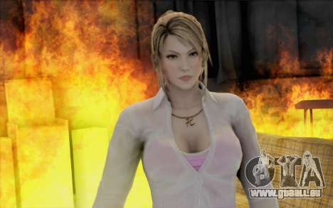 Sarah aus Dead or Alive 5 für GTA San Andreas